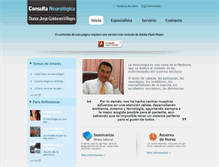 Tablet Preview of consultaneurologica.cl